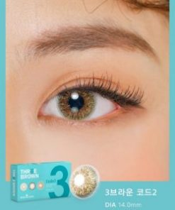 Eyes wear Ann365 3 Brown Code 3 color contact lens